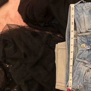 H&M Pants - H&M super skinny ripped low waist jeans